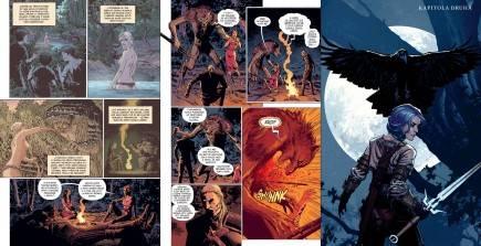 Komiks Zaklínač 3: Prokletí vran