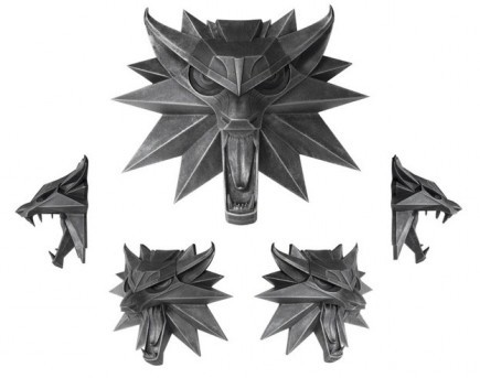 Nástěnný medailon Zaklínač - Vlk (Dark Horse)