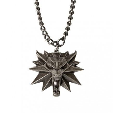 Medailon na krk Zaklínač 3 - Vlk