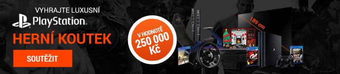 Xzone.cz – Vyhrajte luxusní PlayStation herní koutek v hodnotě 250 000 Kč!