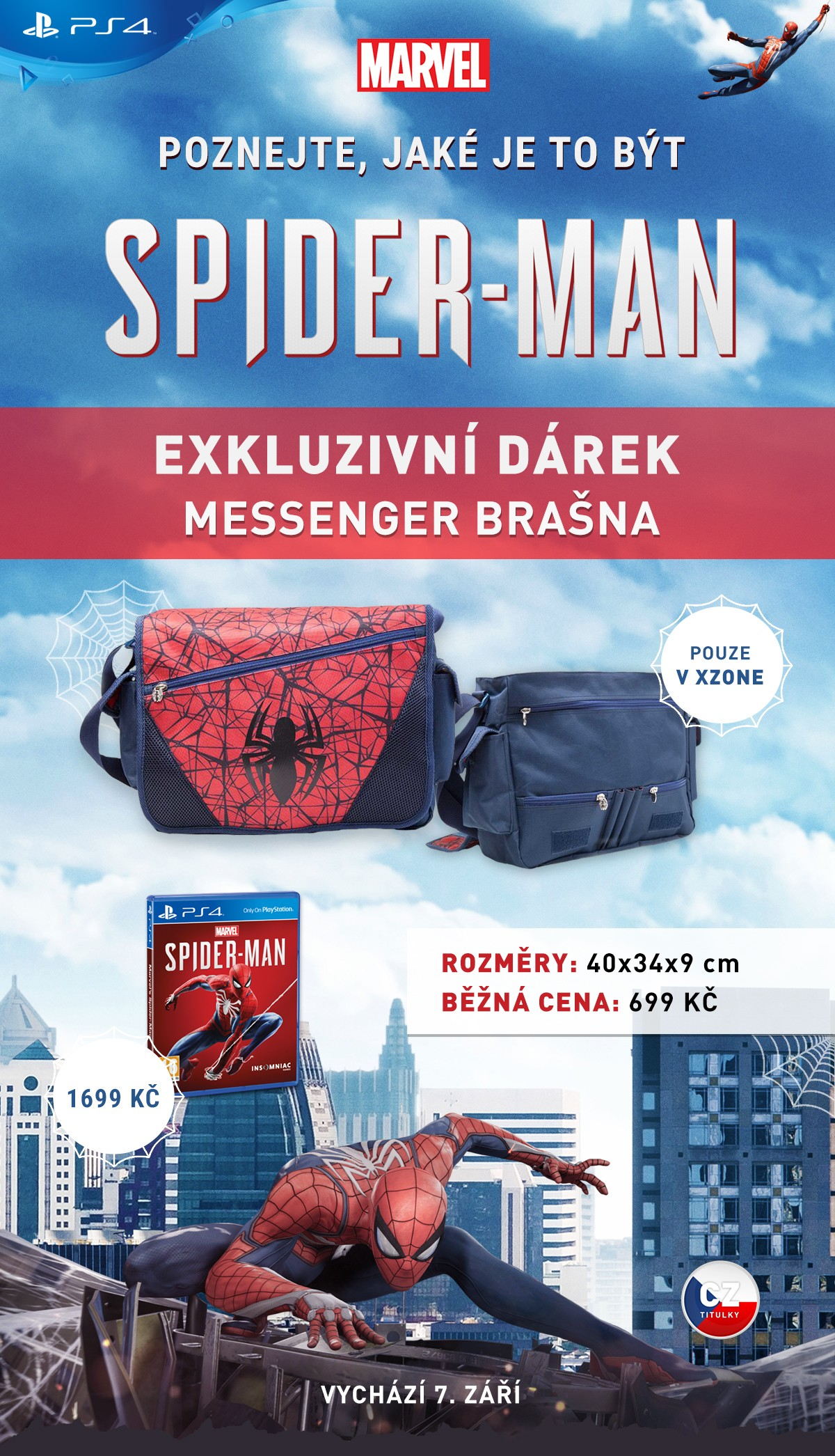 spider-man ve formě